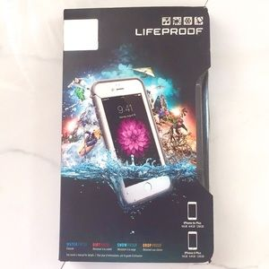 New in Box LifeProof Fre case IPhone 6 Plus